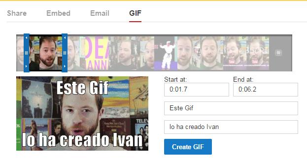 creador gifs youtube