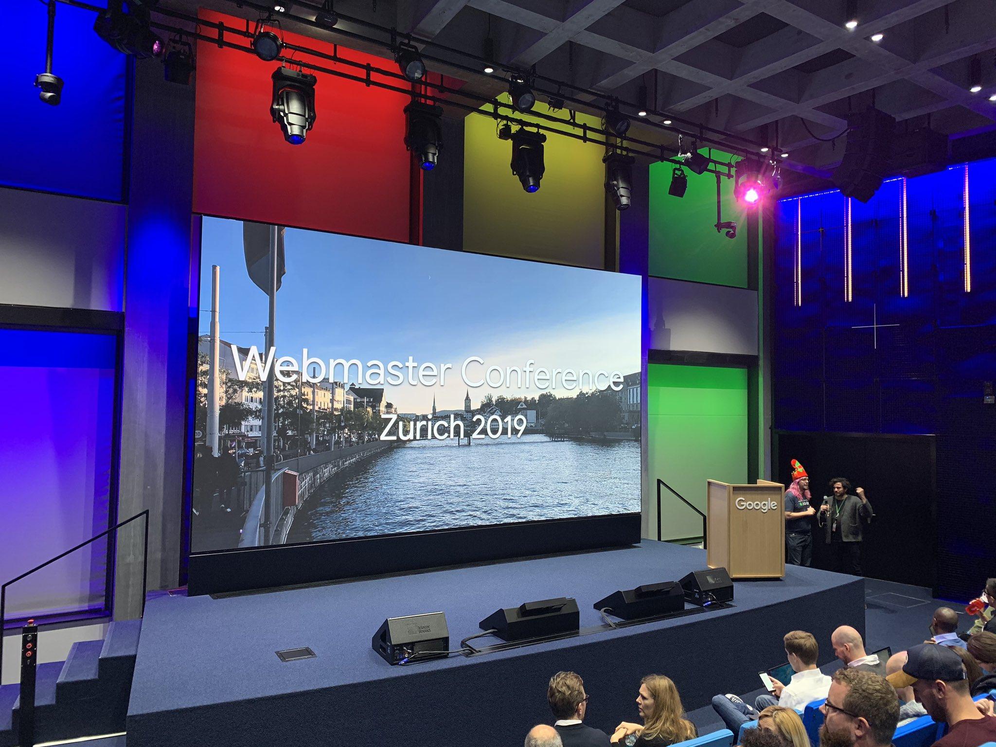 Google Webmaster Conference Zurich 2019